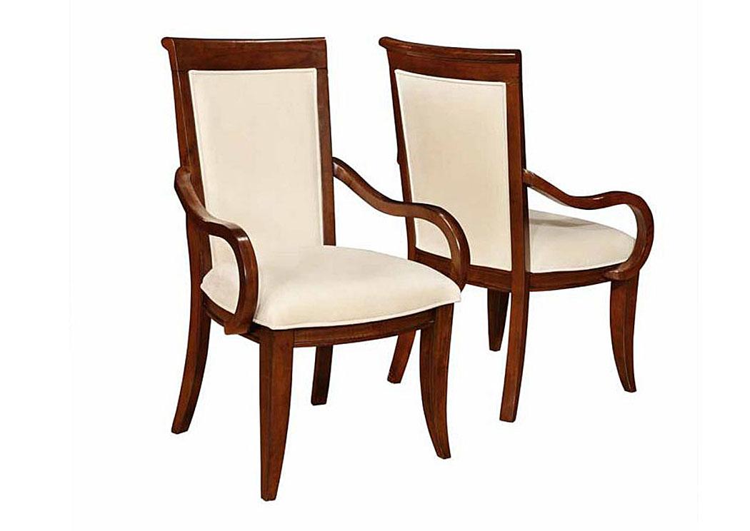 Brothers Fine Furniture Walnut Arm Chair Set of 2 : 105443 from www.brothersfinefurniture.com size 1050 x 744 jpeg 89kB