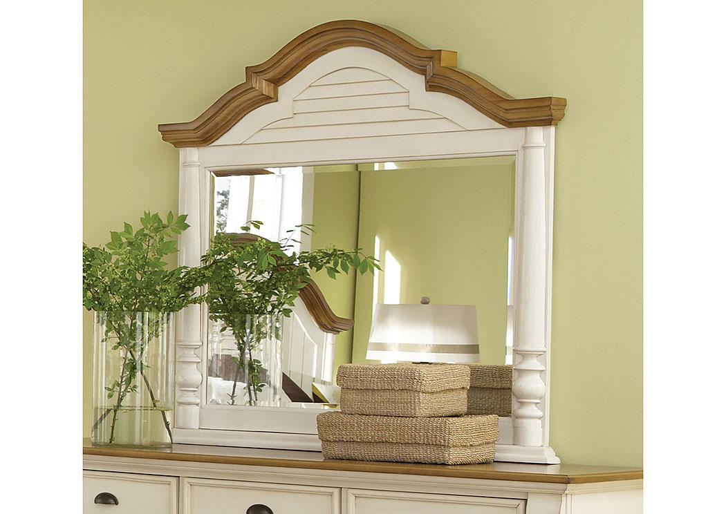 Furniture Palace Oleta Buttermilk Mirror