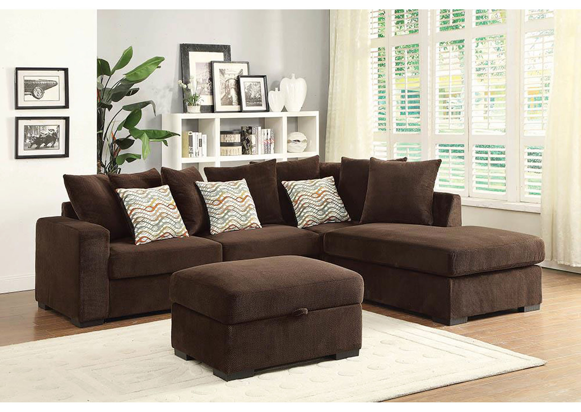 Furniture Stores In Miami 1 Discount Ashley Home Furniture Brown Sectional