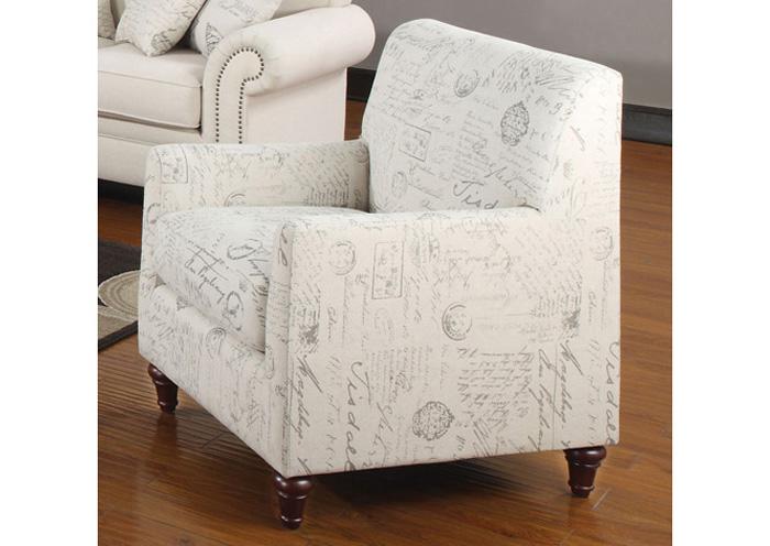 Furniture Palace Norah Cream Chair