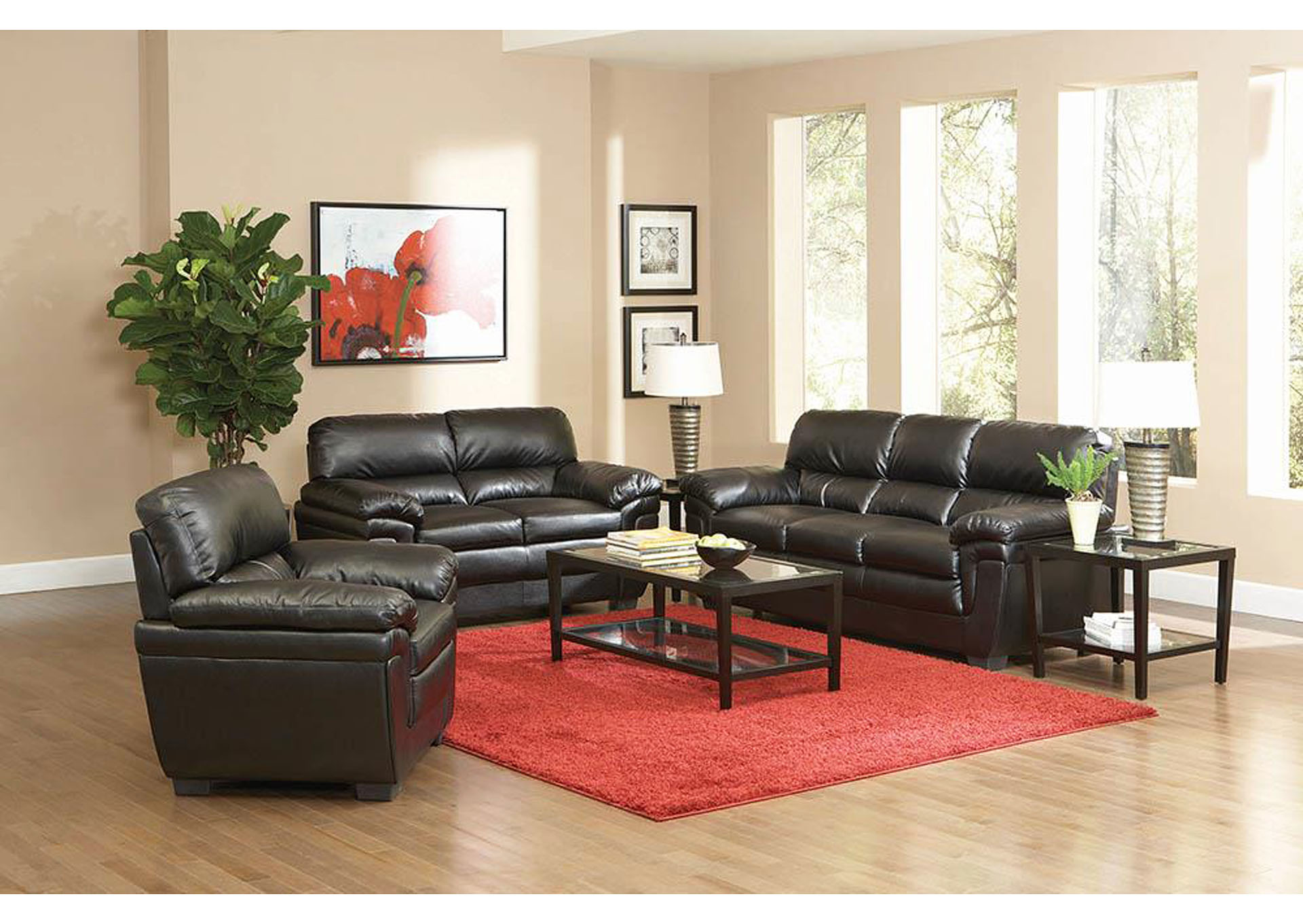 Furniture stores in miami 1 discount ashley home furniture fenmore black love seat - Ways of accessorizing love seats ...