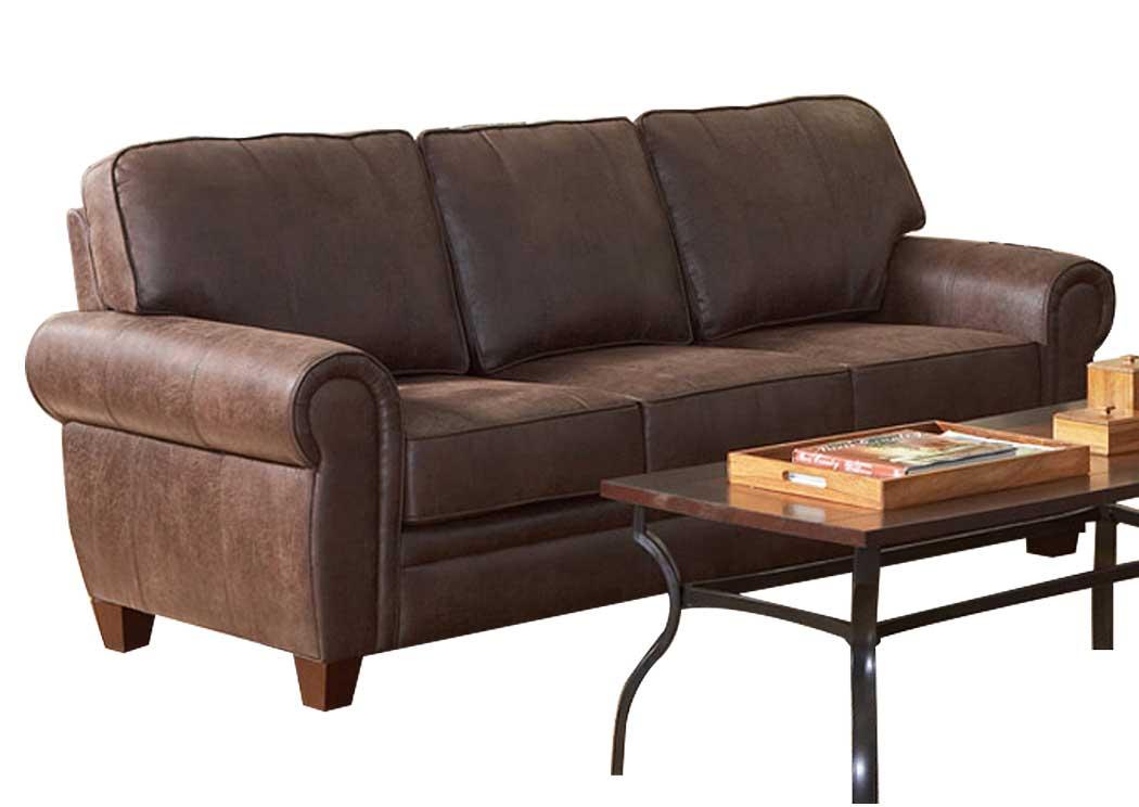 Furniture Palace Bentley Brown Sofa