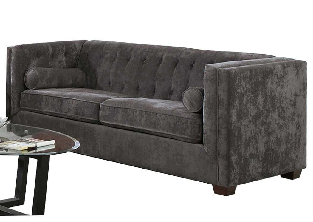 Furniture Palace Alexis Charcoal Sofa