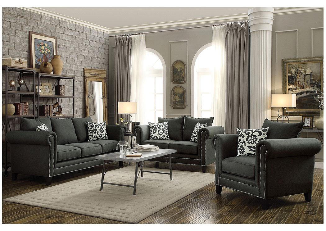National Furniture Outlet Westwego La Brown Sofa Loveseat