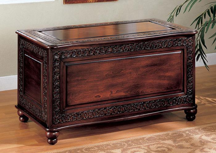 Compass Furniture Jefferson La Dark Cherry Chest