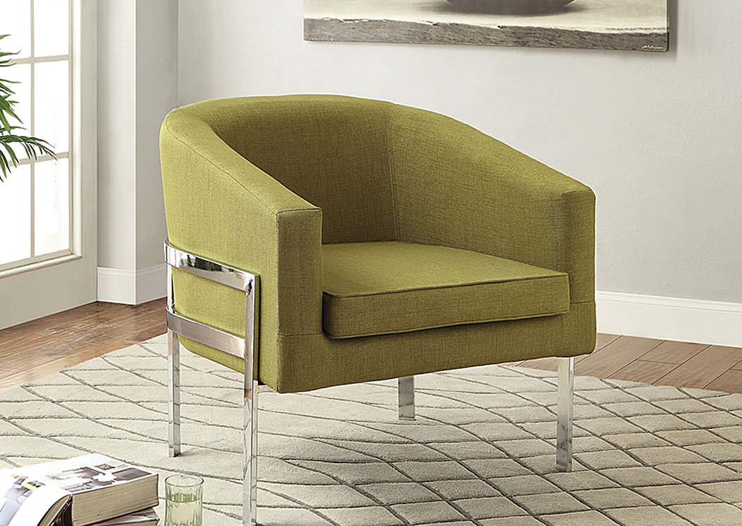 Muncie Furniture Green Accent Chair