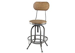 Brown Bar Stool (Set of 2),Coaster Furniture