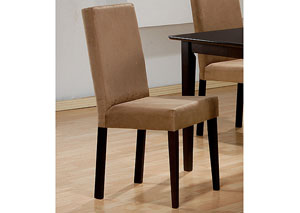 Mocha & Cappuccino Chair (Set of 2),Coaster Furniture