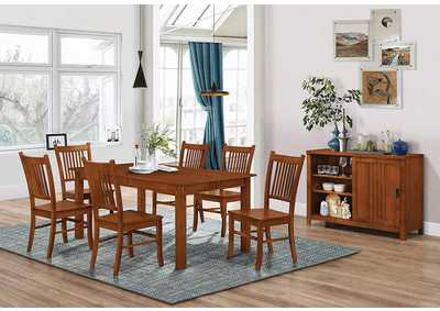 Marbrisa Medium Brown Dining Table
