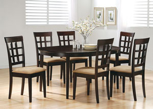 Oval Dining Table w/ Leaf