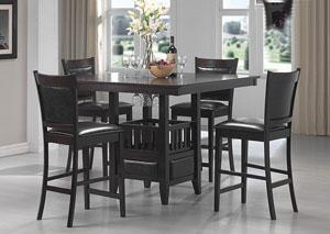 Jaden Cappuccino Counter Height Table