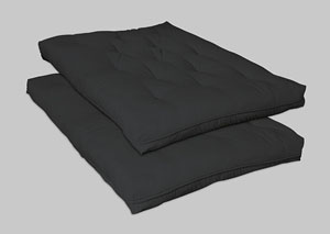 Black Deluxe Futon Pad,Coaster Furniture