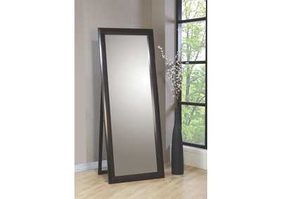 Phoenix Cappuccino Viva Stand Mirror,Coaster Furniture