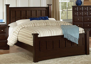 Harbor Cappuccino King Bed