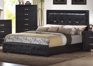 Dylan Black Queen Bed