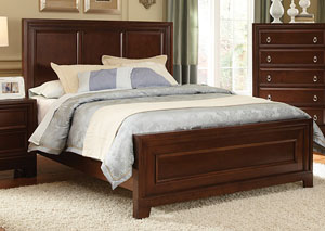 Nortin Dark Cherry King Bed