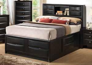 Briana Black Queen Bed