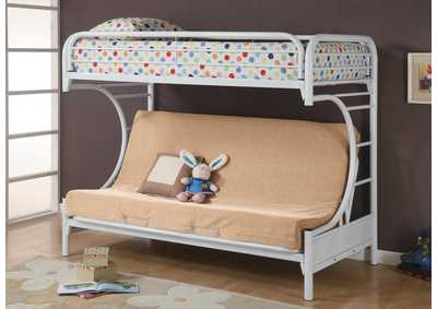 Twin/Full Bunkbed w/ Futon