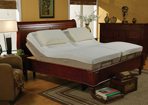 Massage Adjustable Twin Long Bed,Coaster Furniture