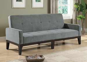 Grey & Cappuccino Blue/ Gray Sofa Bed,Coaster Furniture