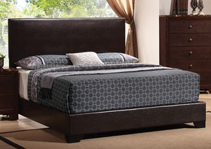 Brown & Brown Queen Bed,Coaster Furniture