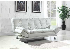 White Sofa Bed,Coaster Furniture