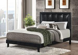 Brown & Black Full Bed