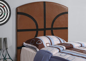 Brown Twin Headboard