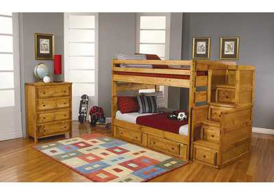 Amber Wash Bunk Bed
