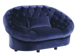 Romanus Royal Blue Chair
