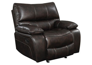 Chocolate Glider Recliner,Coaster Furniture