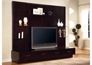 TV Console w/ Hutch
