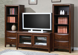 TV Console w/ 2 Media Towers