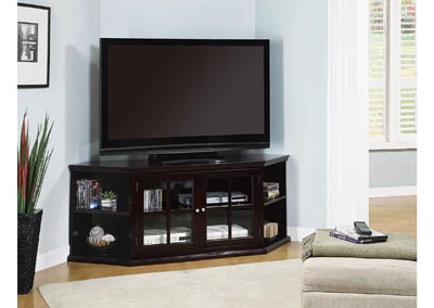 Corner TV Console,Coaster Furniture