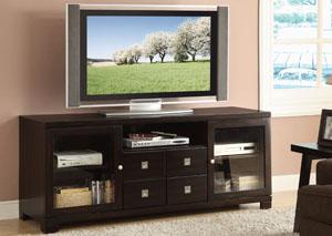 Dark Mahogany TV Console