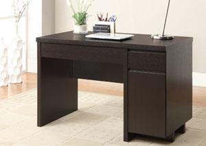Cappuccino Computer Desk