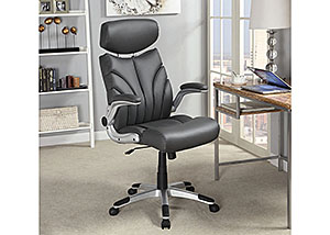 Grey & Grey Office Chair