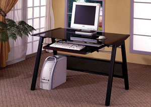 Dark Computer Desk