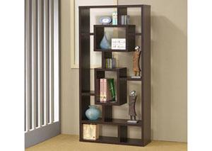 Cappuccino Bookcase