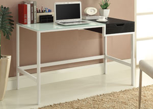 White & Black Desk