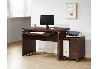 2 Drawer Computer Stand,Coaster Furniture