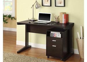 Office Desk & File Cabinet,Coaster Furniture