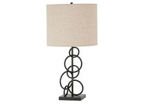 Vintage Bronze Table Lamp,Coaster Furniture