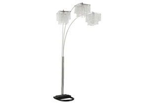 Chrome Floor Lamp,Coaster Furniture