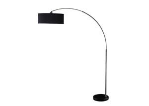 Black & Chrome Lamp