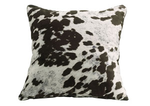 Brown Cow Accent Pillow