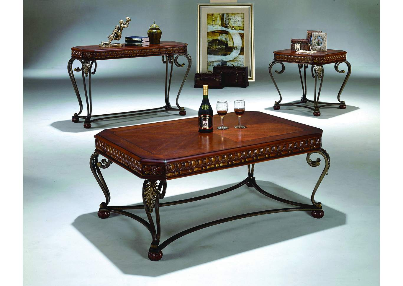 Compass furniture jefferson la clairmont coffee table for Markup table