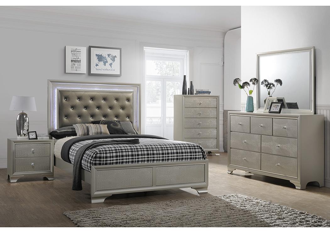 National Furniture Outlet Westwego La Andros King Platform Bed