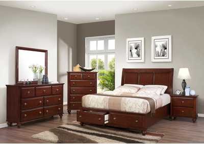 Portsmouth Queen Storage Bed,Crown Mark