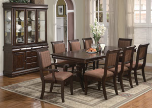 Cherry Dining Set (Table & 4 Chairs)
